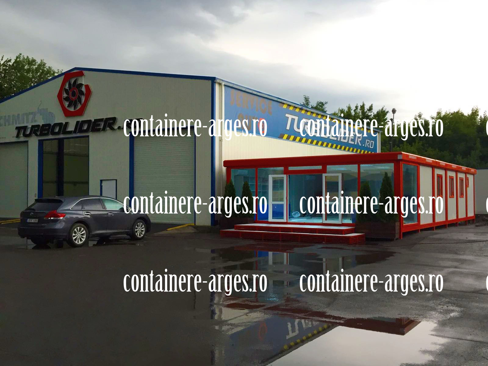 casa container Arges