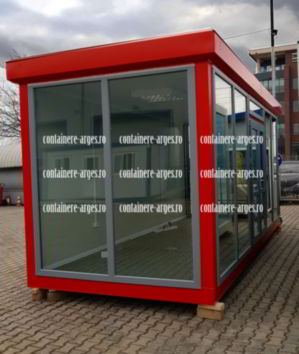 container industrial pret Arges
